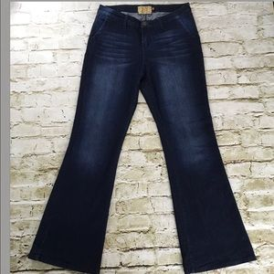 Dear John stitch fix marson wide leg jeans trouser